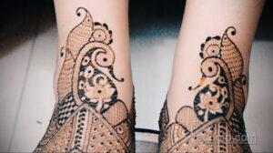 Рисунок тату хной для начинающих 28.11.2020 №191 -Henna tattoo drawing- tatufoto.com