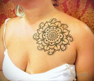 Рисунок тату хной для начинающих 28.11.2020 №195 -Henna tattoo drawing- tatufoto.com
