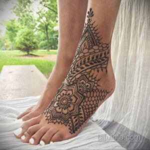 Рисунок тату хной для начинающих 28.11.2020 №196 -Henna tattoo drawing- tatufoto.com