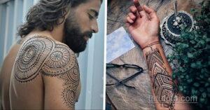 Рисунок тату хной для начинающих 28.11.2020 №200 -Henna tattoo drawing- tatufoto.com