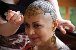 Рисунок тату хной для начинающих 28.11.2020 №201 -Henna tattoo drawing- tatufoto.com