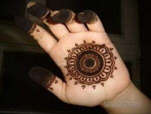 Рисунок тату хной для начинающих 28.11.2020 №208 -Henna tattoo drawing- tatufoto.com