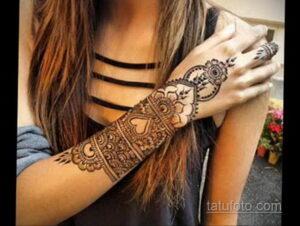Рисунок тату хной для начинающих 28.11.2020 №210 -Henna tattoo drawing- tatufoto.com