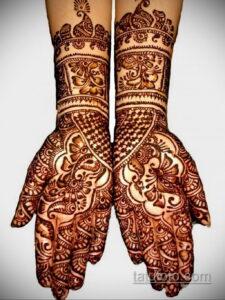 Рисунок тату хной для начинающих 28.11.2020 №220 -Henna tattoo drawing- tatufoto.com