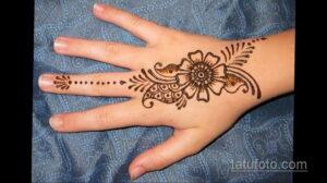 Рисунок тату хной для начинающих 28.11.2020 №225 -Henna tattoo drawing- tatufoto.com