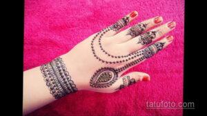 Рисунок тату хной для начинающих 28.11.2020 №231 -Henna tattoo drawing- tatufoto.com