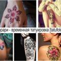 Темпорари - временная татуировка- информация про особенности и фото примеры тату