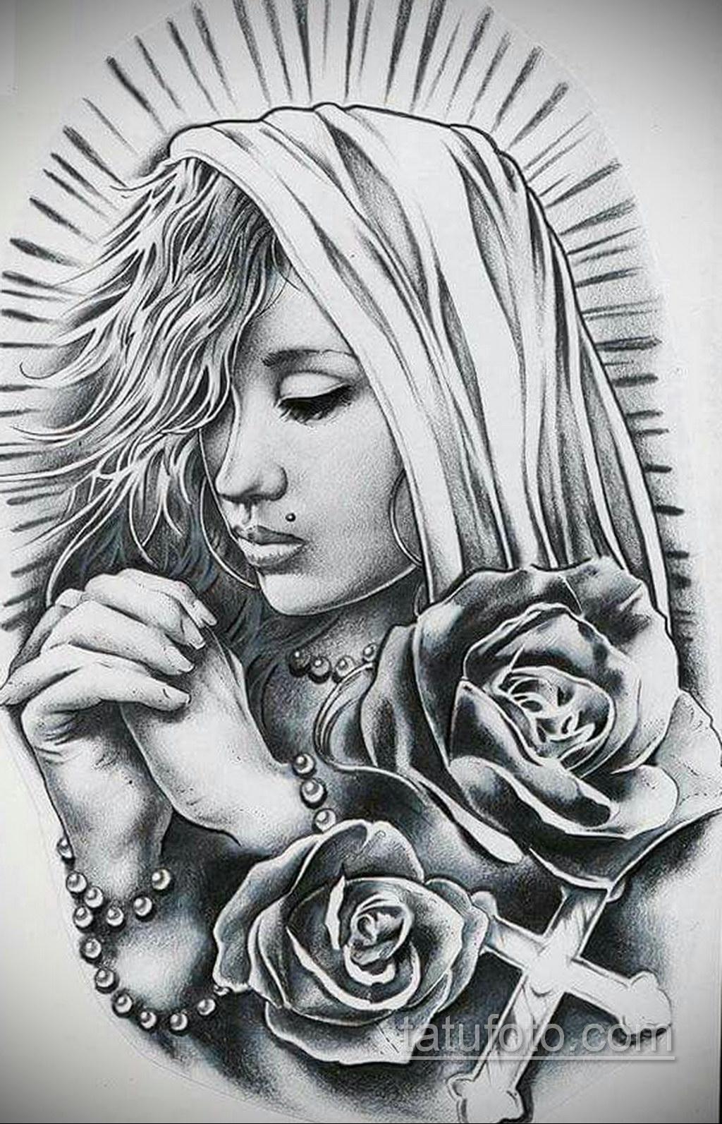 Фото ангельского рисунка тату 22.11.2020 №106 -Angelic tattoo- tatufoto.com