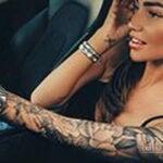 Фото женской тату на руке 16.11.2020 №039 -arm women tattoo- tatufoto.com