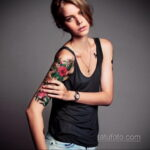 Фото женской тату на руке 16.11.2020 №070 -arm women tattoo- tatufoto.com