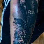 Фото интересного рисунка татуировки 08.11.2020 №052 -interesting tattoo- tatufoto.com