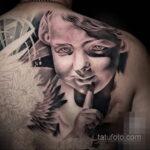 Фото интересного рисунка татуировки 08.11.2020 №055 -interesting tattoo- tatufoto.com