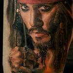 Фото интересного рисунка татуировки 08.11.2020 №058 -interesting tattoo- tatufoto.com