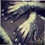 Фото интересного рисунка хной на теле 13.11.2020 №365 -henna tattoo- tatufoto.com