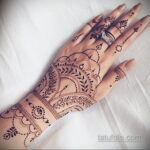 Фото интересного рисунка хной на теле 13.11.2020 №374 -henna tattoo- tatufoto.com