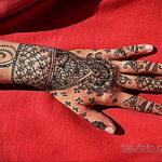 Фото интересного рисунка хной на теле 13.11.2020 №421 -henna tattoo- tatufoto.com