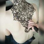 Фото интересного рисунка хной на теле 13.11.2020 №429 -henna tattoo- tatufoto.com