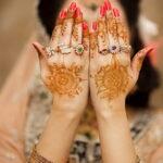Фото интересного рисунка хной на теле 13.11.2020 №437 -henna tattoo- tatufoto.com