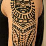 Фото интересного рисунка хной на теле 13.11.2020 №449 -henna tattoo- tatufoto.com