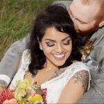 Фото невесты с татуировками 10.11.2020 №068 -bride with tattoo- tatufoto.com