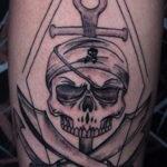 Фото необычного рисунка татуировки 11.11.2020 №043 -unusual tattoo patter- tatufoto.com