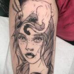 Фото необычного рисунка татуировки 11.11.2020 №113 -unusual tattoo patter- tatufoto.com