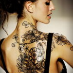 Фото пример рисунка женской тату 17.11.2020 №060 -female tattoo- tatufoto.com