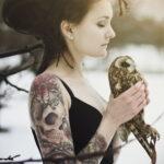 Фото пример рисунка женской тату 17.11.2020 №101 -female tattoo- tatufoto.com