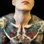 Фото пример рисунка мужской тату 17.11.2020 №007 -male tattoo- tatufoto.com