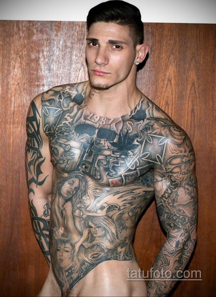 Фото пример рисунка мужской тату 17.11.2020 №010 -male tattoo- tatufoto.com