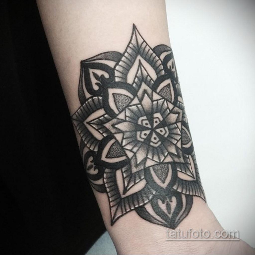 Фото рисунка тату мандала 22.11.2020 №040 -Mandala tattoo- tatufoto.com
