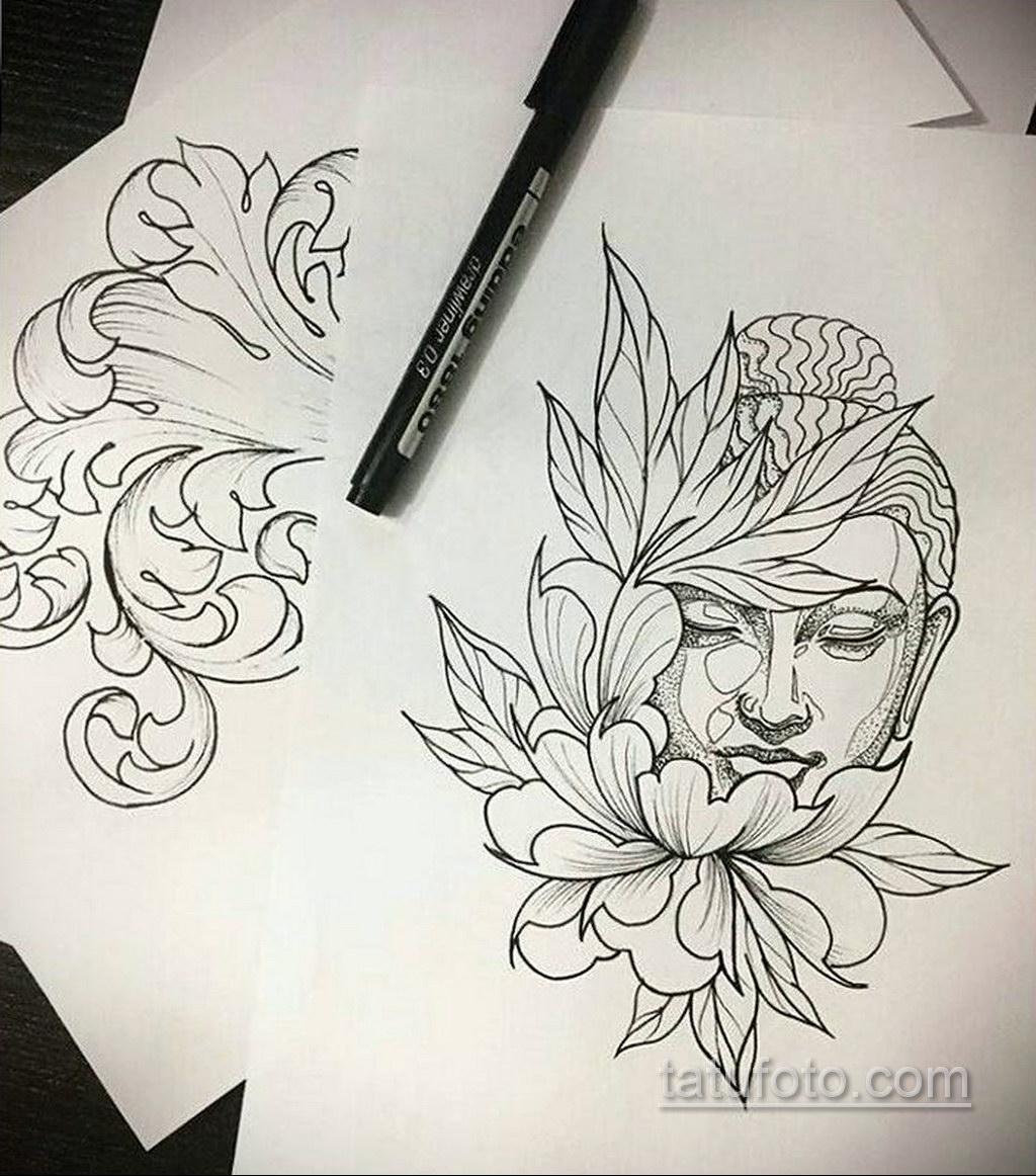 Фото рисунка тату мандала 22.11.2020 №057 -Mandala tattoo- tatufoto.com