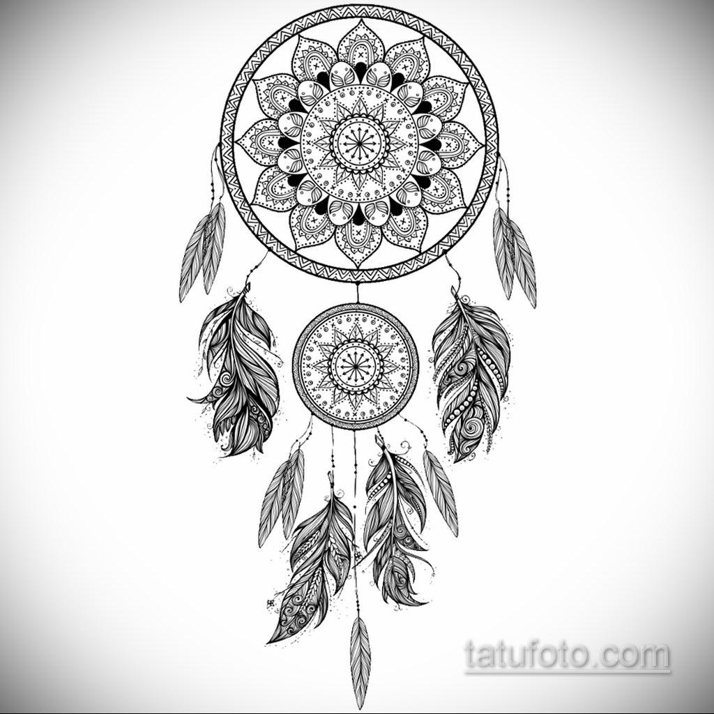 Фото рисунка тату мандала 22.11.2020 №059 -Mandala tattoo- tatufoto.com