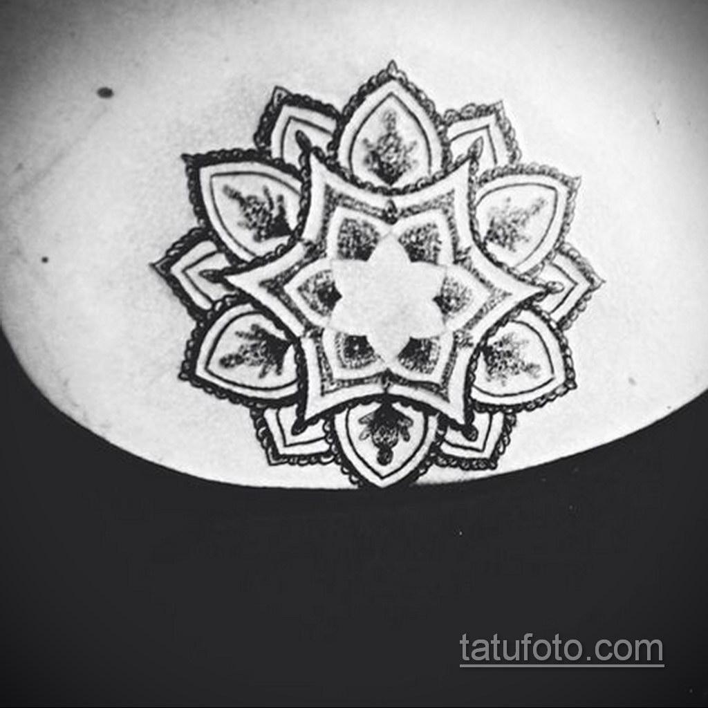Фото рисунка тату мандала 22.11.2020 №062 -Mandala tattoo- tatufoto.com