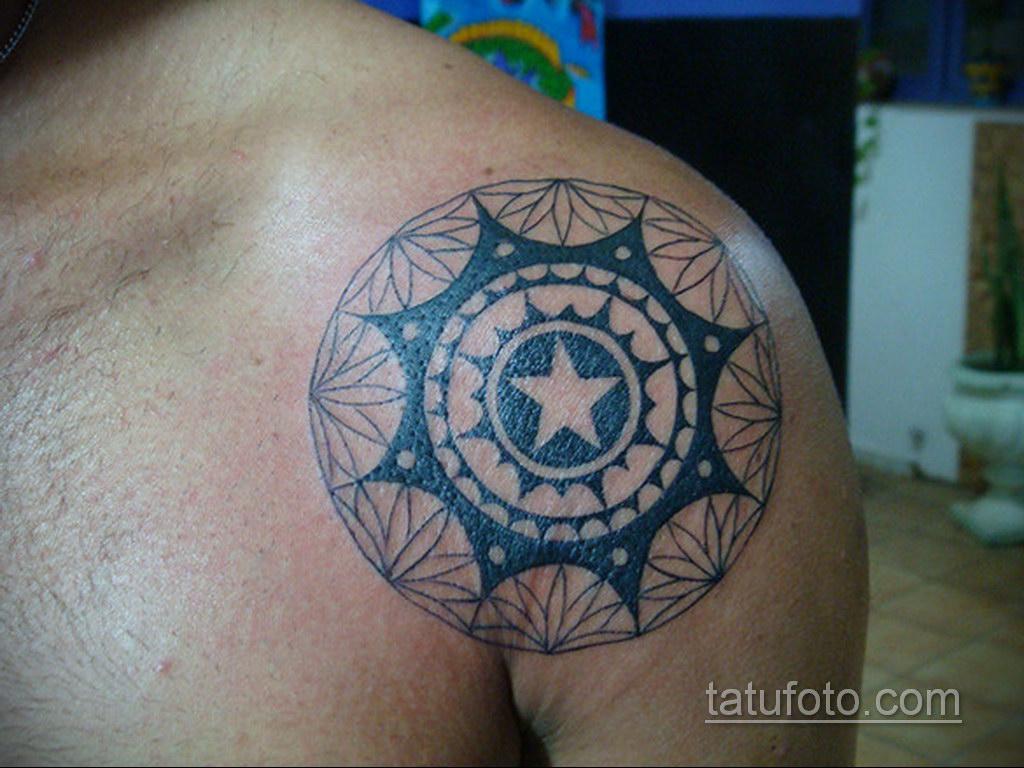 Фото рисунка тату мандала 22.11.2020 №119 -Mandala tattoo- tatufoto.com