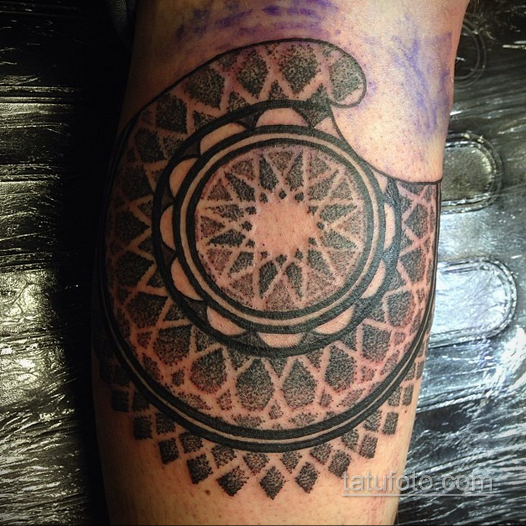 Фото рисунка тату мандала 22.11.2020 №163 -Mandala tattoo- tatufoto.com