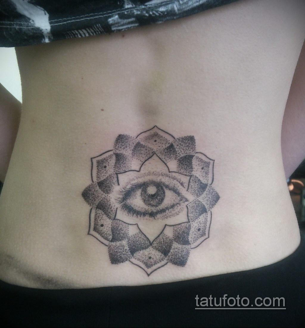 Фото рисунка тату мандала 22.11.2020 №164 -Mandala tattoo- tatufoto.com