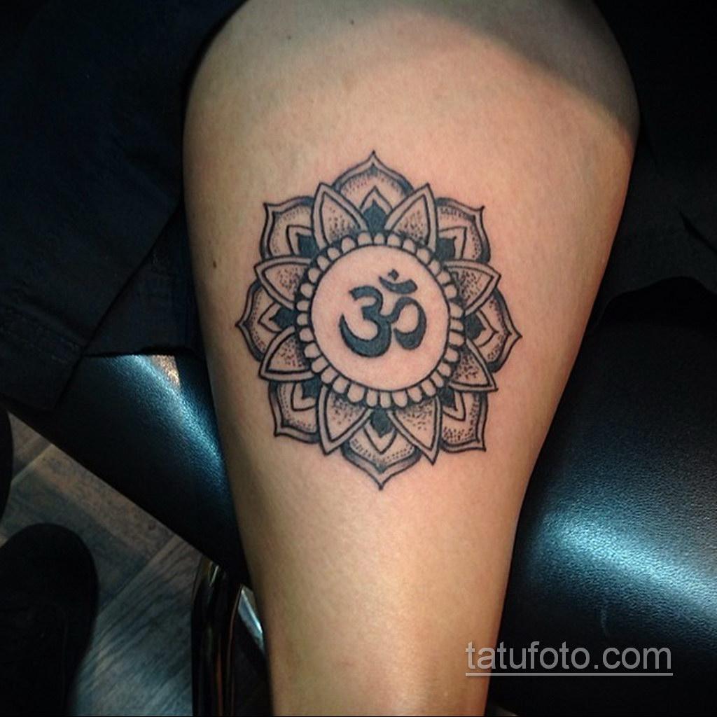 Фото рисунка тату мандала 22.11.2020 №181 -Mandala tattoo- tatufoto.com