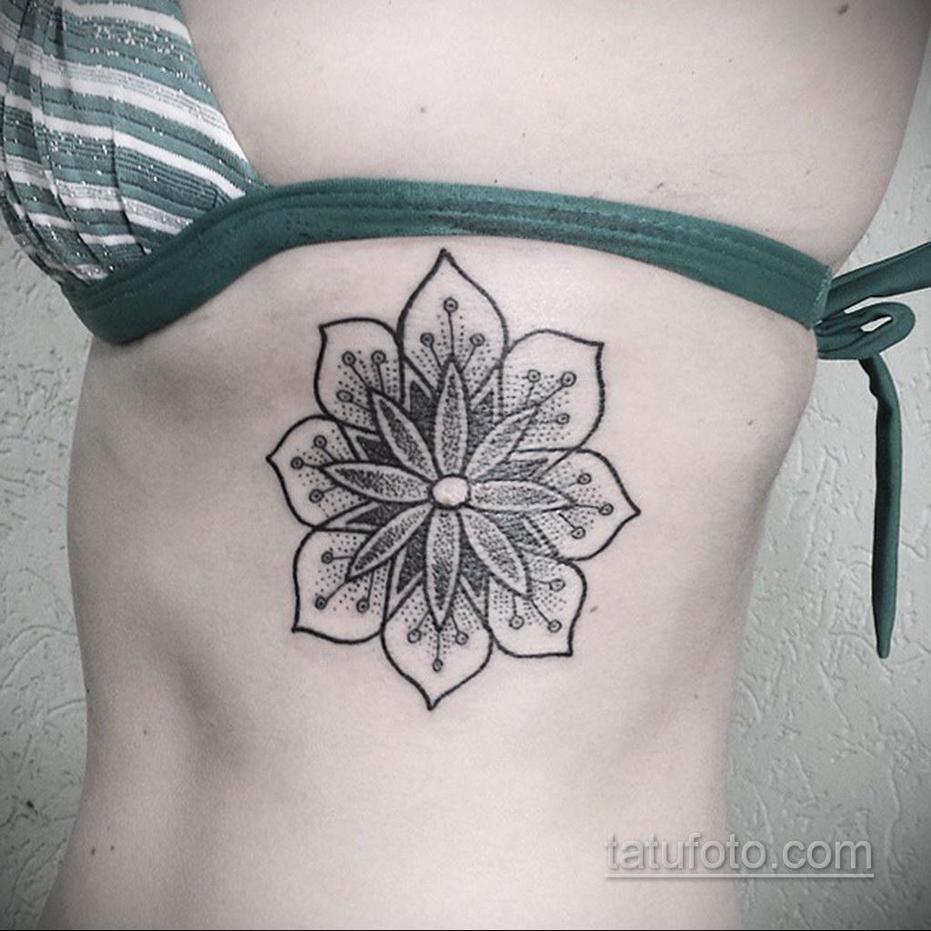 Фото рисунка тату мандала 22.11.2020 №198 -Mandala tattoo- tatufoto.com