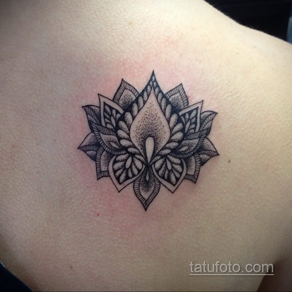 Фото рисунка тату мандала 22.11.2020 №199 -Mandala tattoo- tatufoto.com