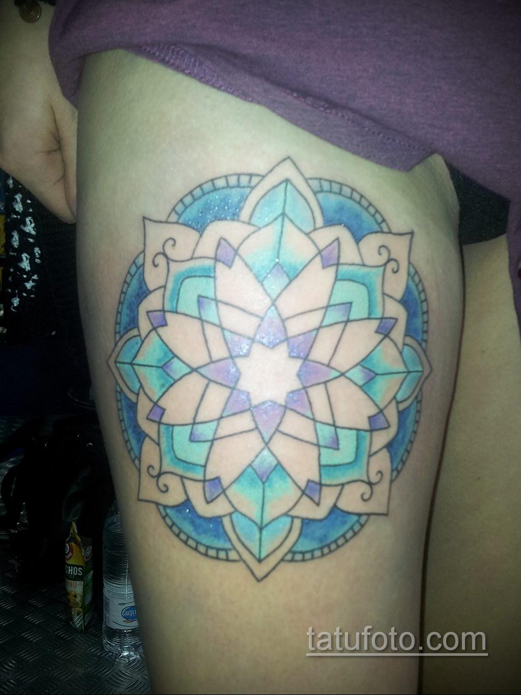 Фото рисунка тату мандала 22.11.2020 №232 -Mandala tattoo- tatufoto.com