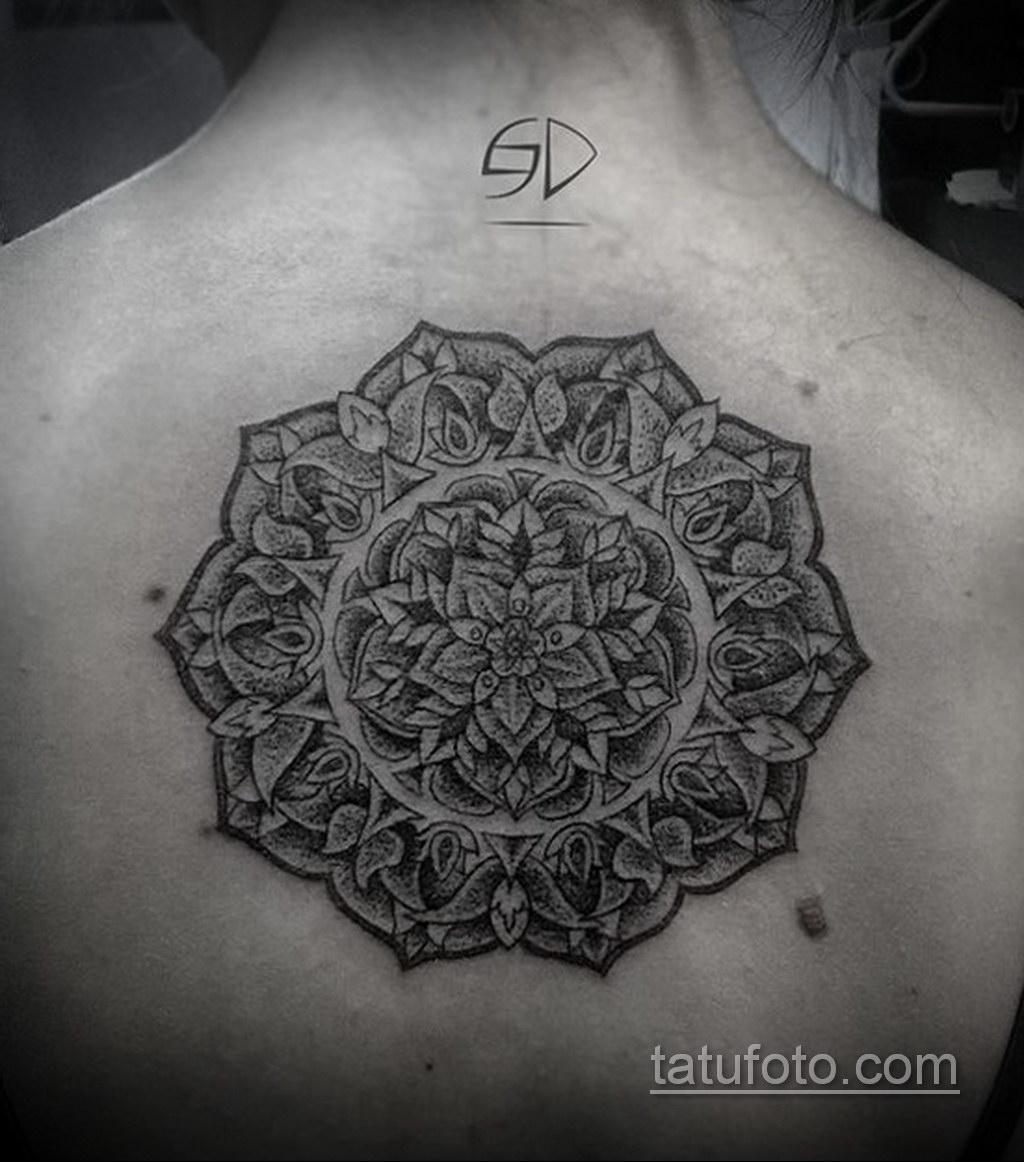 Фото рисунка тату мандала 22.11.2020 №252 -Mandala tattoo- tatufoto.com