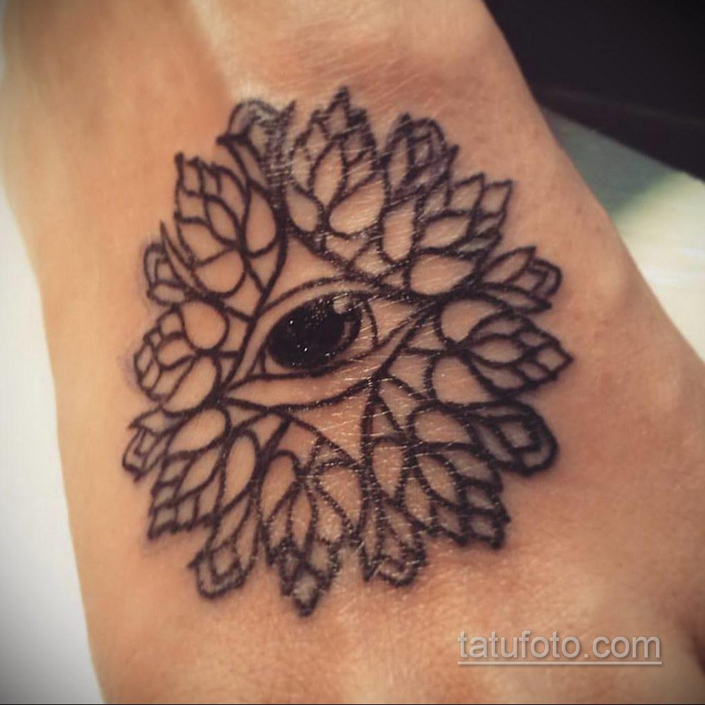 Фото рисунка тату мандала 22.11.2020 №261 -Mandala tattoo- tatufoto.com