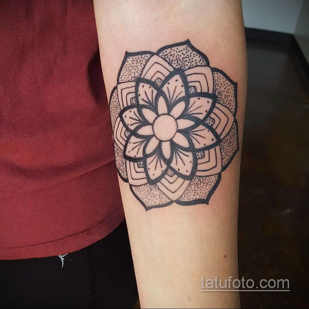 Фото рисунка тату мандала 22.11.2020 №283 -Mandala tattoo- tatufoto.com