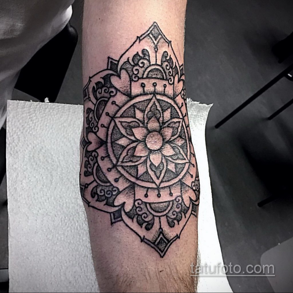 Фото рисунка тату мандала 22.11.2020 №299 -Mandala tattoo- tatufoto.com