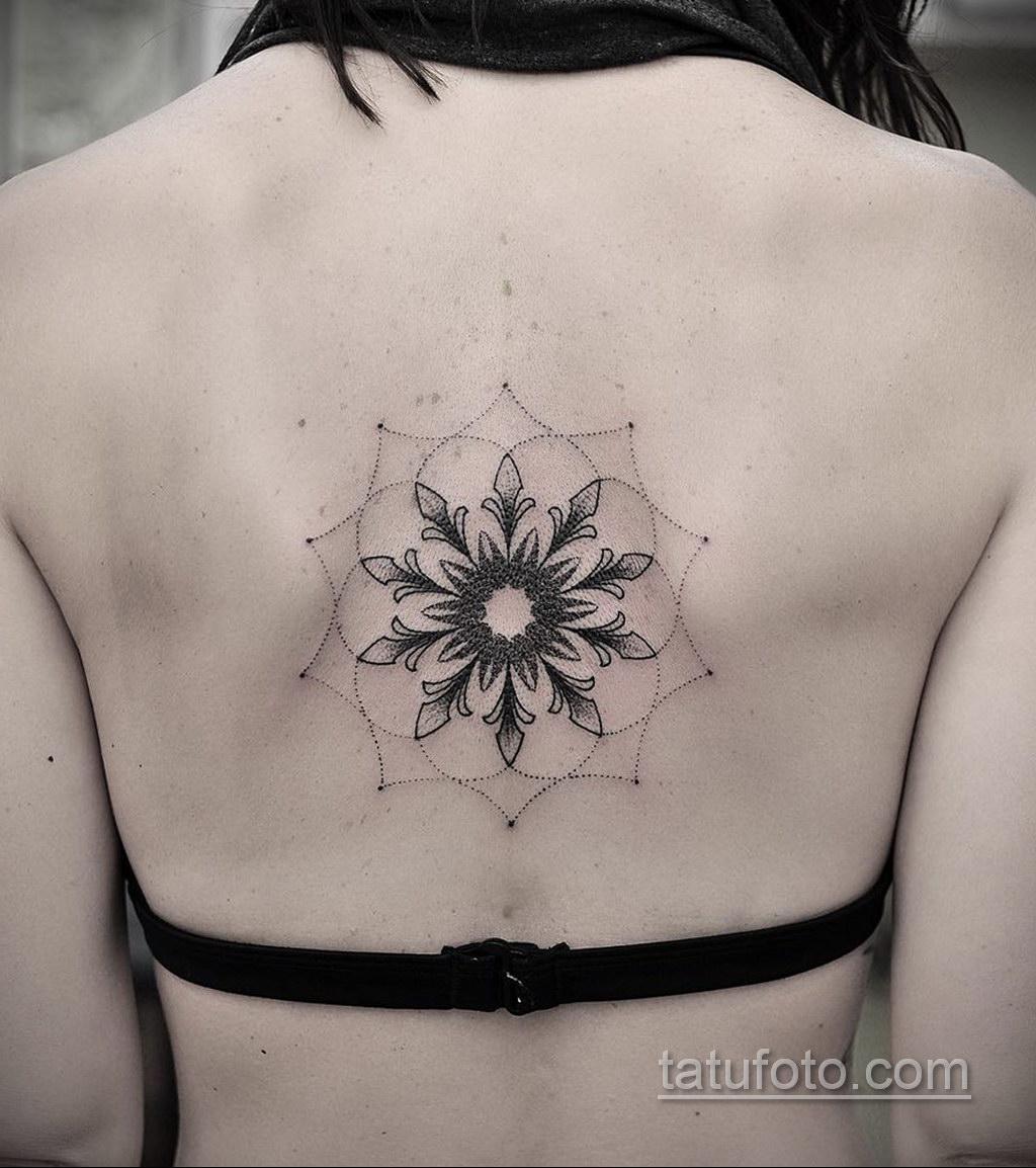 Фото рисунка тату мандала 22.11.2020 №317 -Mandala tattoo- tatufoto.com