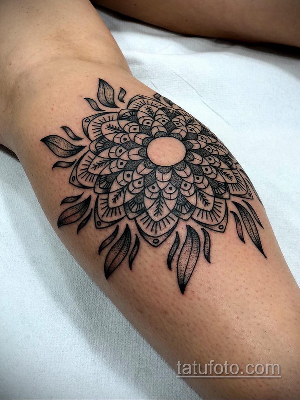Фото рисунка тату мандала 22.11.2020 №323 -Mandala tattoo- tatufoto.com