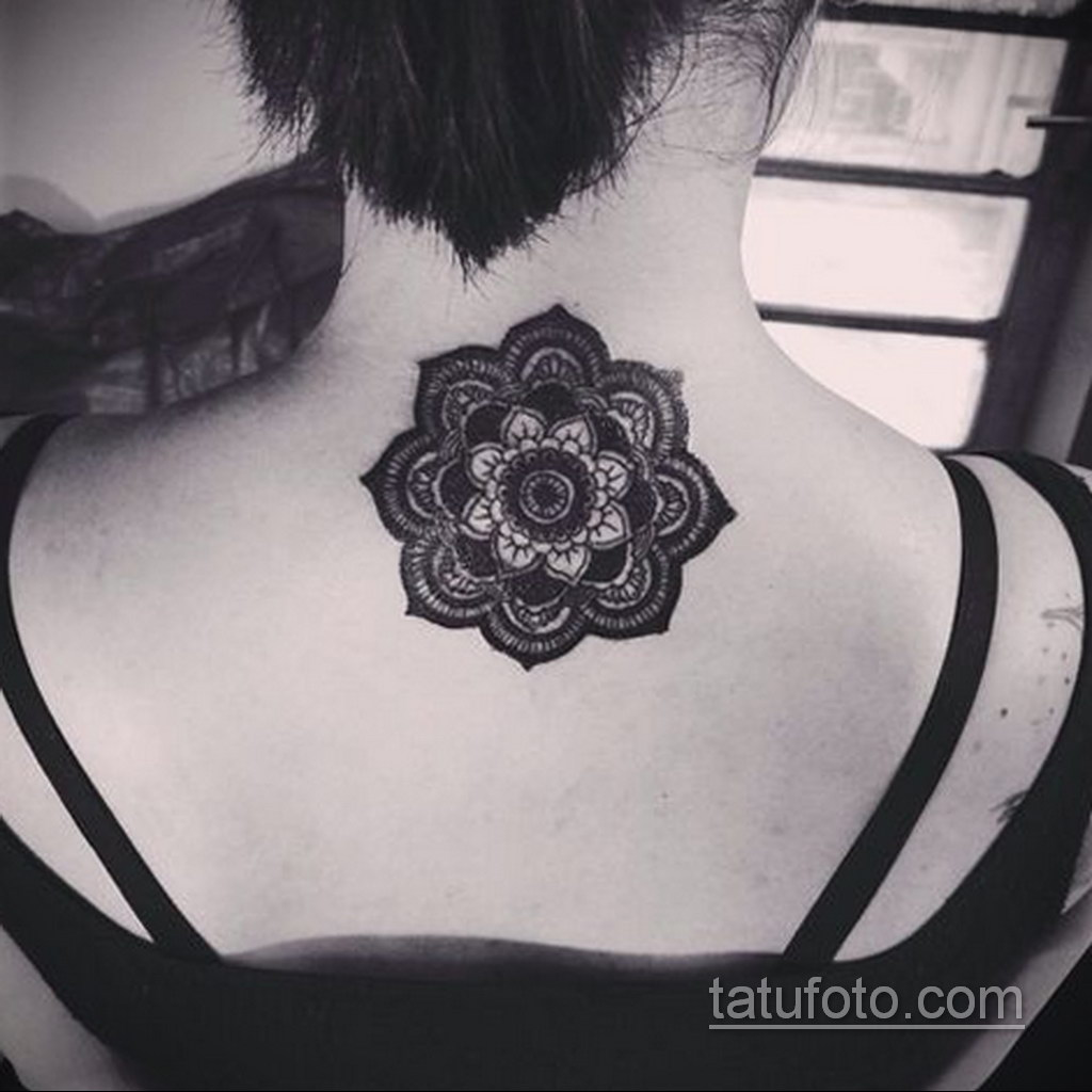 Фото рисунка тату мандала 22.11.2020 №393 -Mandala tattoo- tatufoto.com