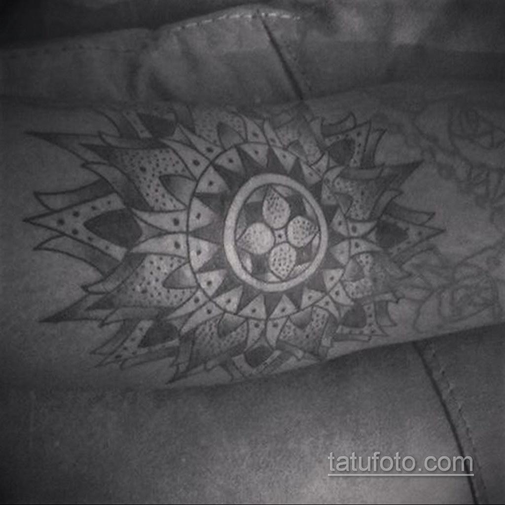Фото рисунка тату мандала 22.11.2020 №399 -Mandala tattoo- tatufoto.com