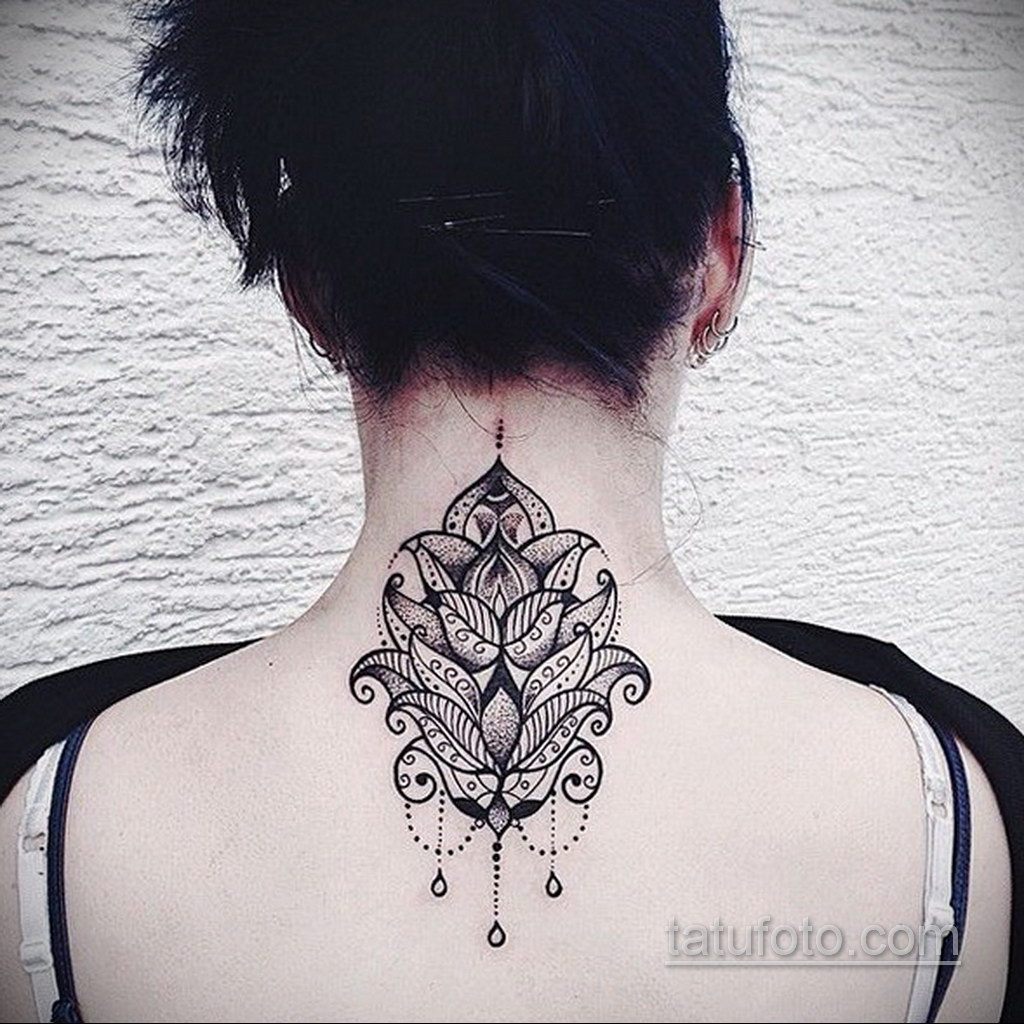 Фото рисунка тату мандала 22.11.2020 №451 -Mandala tattoo- tatufoto.com